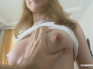 Lovely Mira A gets her pussy charmed unconnected with horny dude in be passed on room