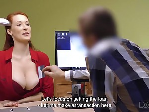 Greatest Agent screws large-bosomed redhead Isabella Lui