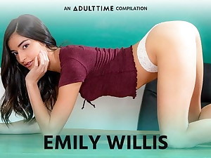 ADULT TIME  Emily WIllis COMP, Creampie & Rough Sexual connection