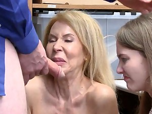Office milf anal first time eon Suspects grandmother was