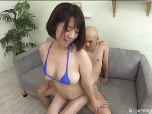 Hot ass Asian indulge Wakaba Onoe licks and fucked from pursuing