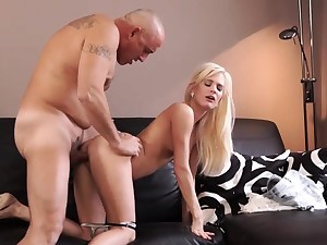 Age-old man cumshot compilation Horny blondie wants to